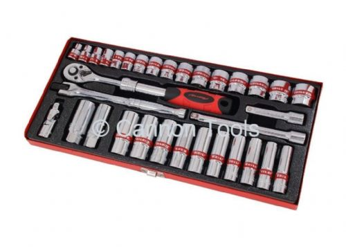 "33Pc 3/8"" Inch Drive Ratchet Ratcheting Socket Sockets Accessory Set"